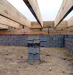 Foundation Joist Beam Settlement Repair Charleston Sc